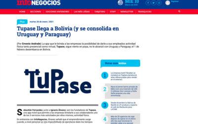 Tupase llega a Bolivia (y se consolida en Uruguay y Paraguay)